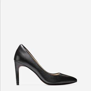 COLE HAAN black ELIZA Pumps heels 7